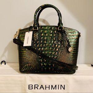 Brahmin Duxbury Satchel Samba Melbourne Leather